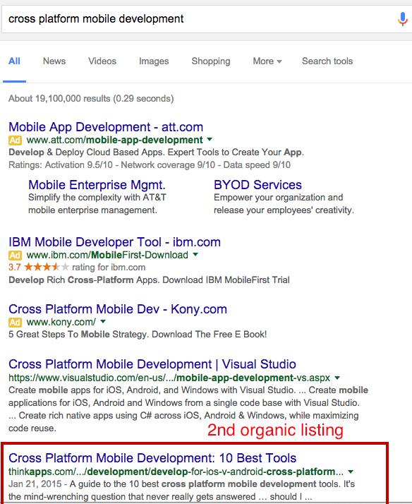 cross platform mobile development comparison