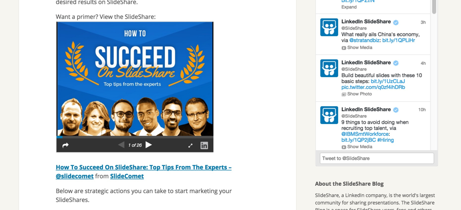 how-to-succeed-slideshare