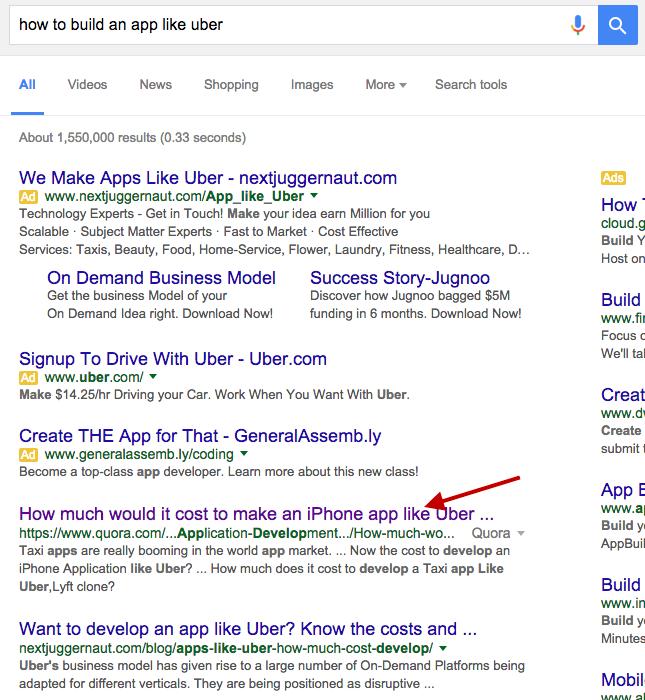 quora-search-listing-app-like-uber