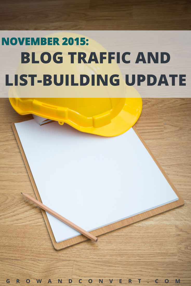 Another behind the scenes blog traffic report to read, these are epic. This one has so many great tips for email list building and sales funnel building in it.