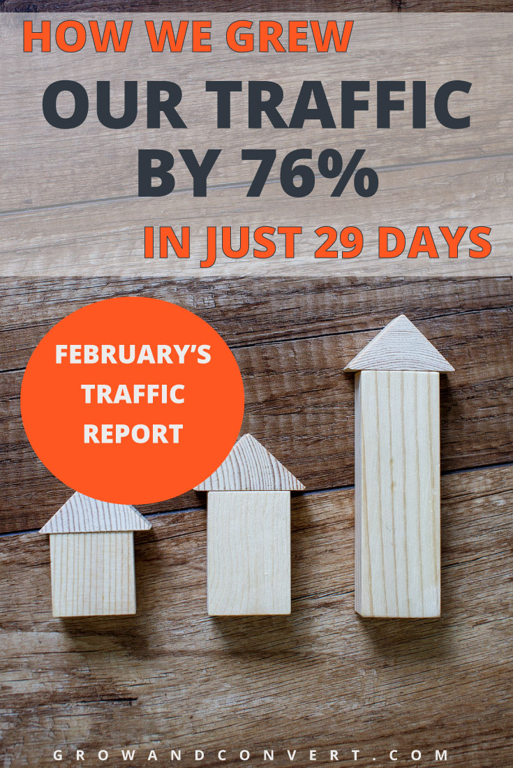These guys are killing it! This is a blogging hack for the books, repin this one for later. They grew their blog traffic by 76% in just 29 days, amazing.