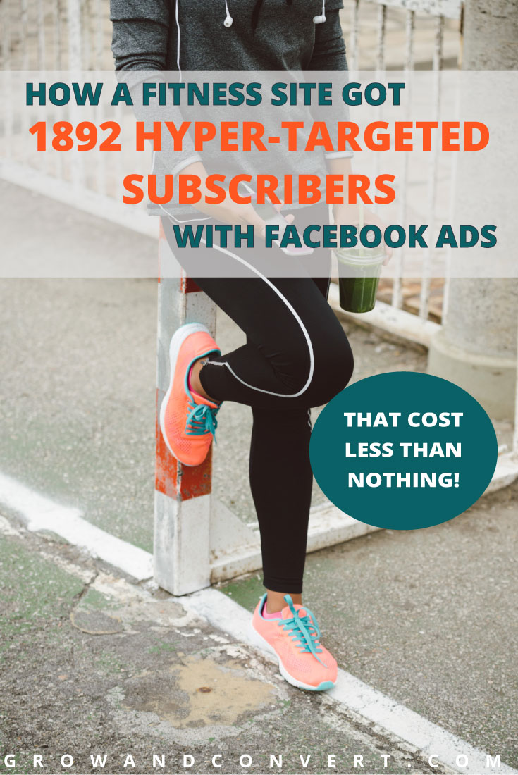 This Facebook ads strategy has paid off in leaps and bounds - Erika managed to make money off of her campaign and get a ton of leads, all with a low budget. This case study is so inspiring, what a great way to grow your blog traffic.