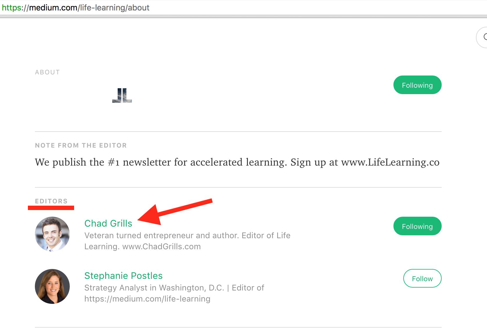 life-learning-editor