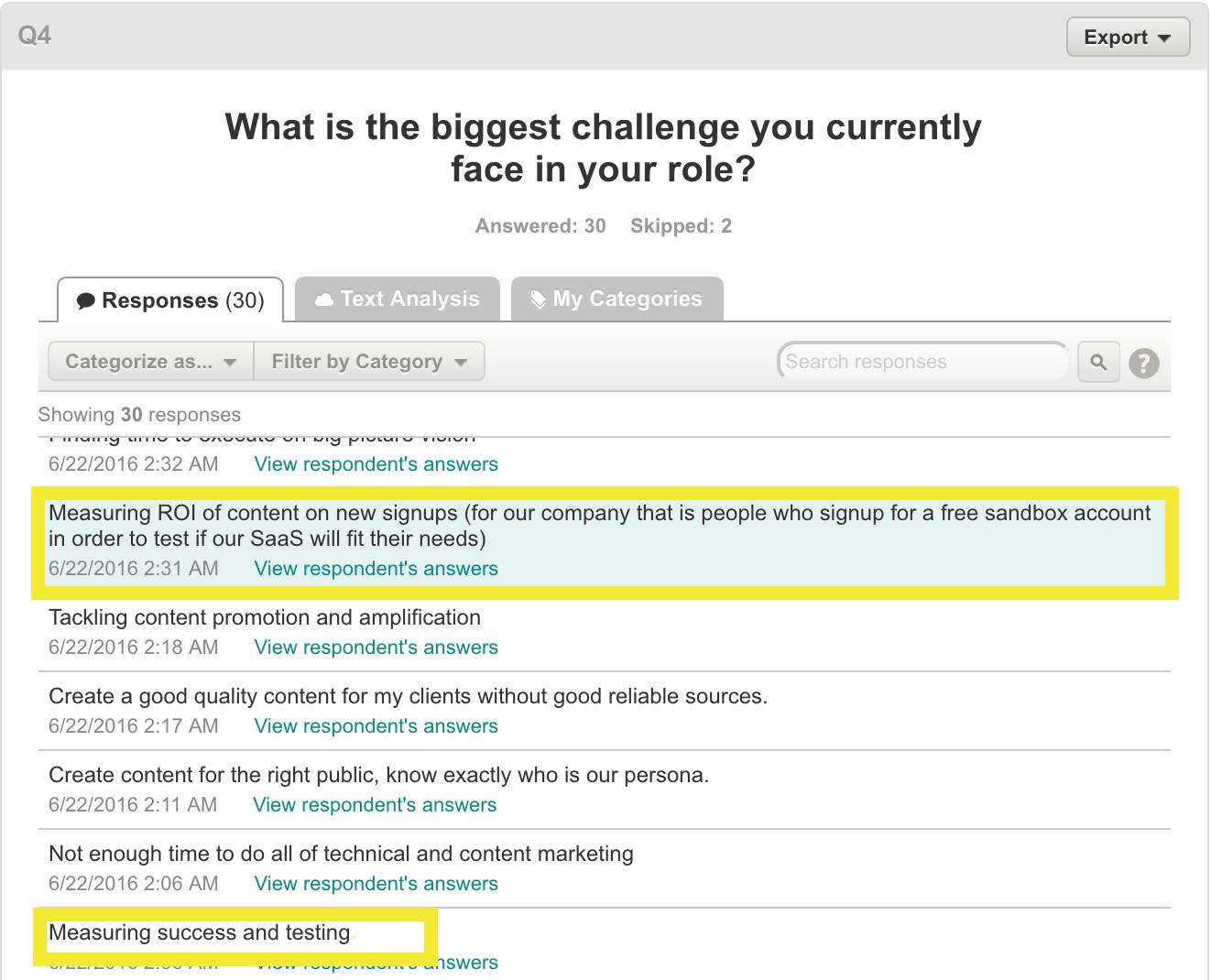 growth ideas biggest challenge